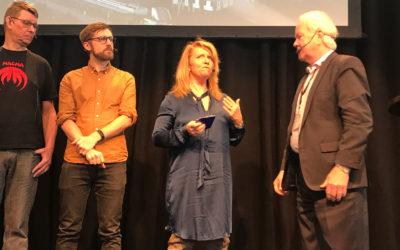 Blogginlägg: Publiksuccé i entréhallen på Nordbygg