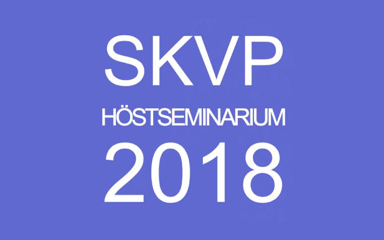 Lär dig mer om Byggmaterial: SKVP Höstseminarium 2018