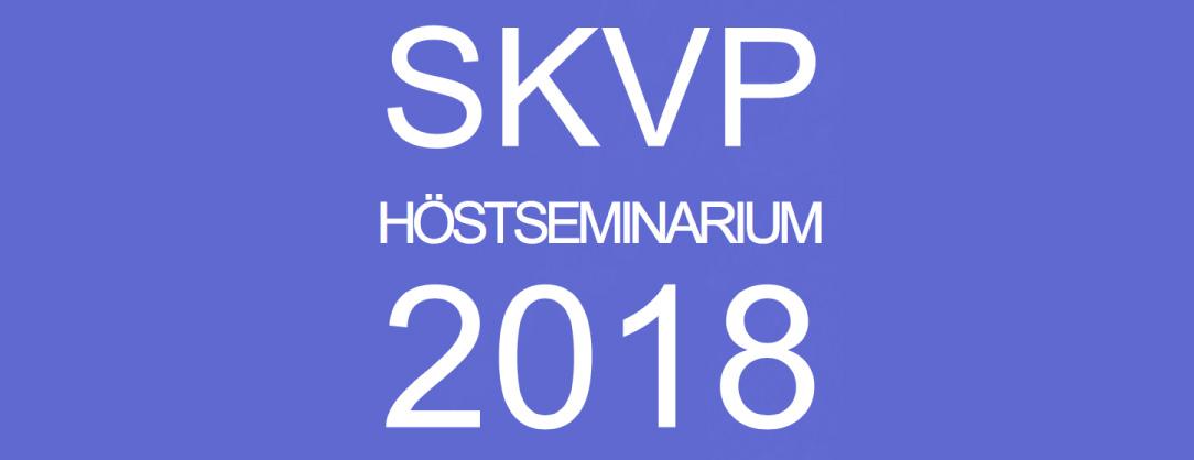 byggmaterialindustrierna SKVP seminarium Svenska Kyl & Värmepumpföreningen