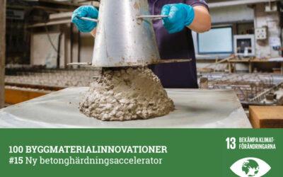 #15 Ny betonghärdningsaccelerator