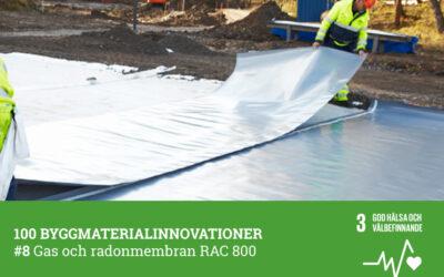 #8 Gas och radonmembran RAC 800