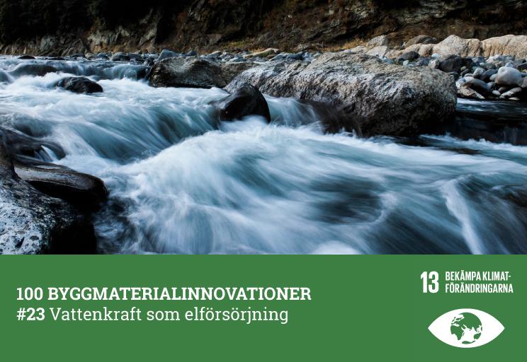 #23 Vattenkraft som elförsörjning