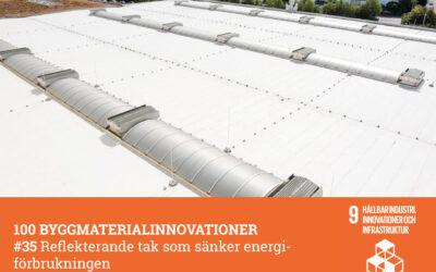 #35 Reflekterande tak som sänker energiförbrukningen