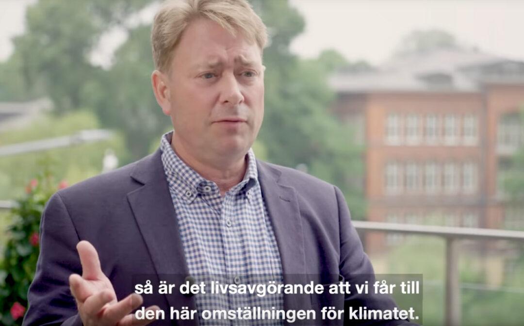 Medlemsnyhet: Hållbar energianvändning för ett fossilfritt Sverige