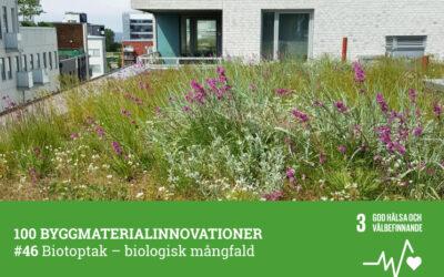#46 Biotoptak bidrar till biologisk mångfald