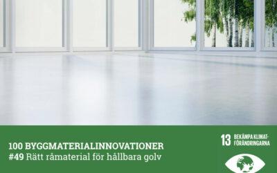 #49 Hållbara golv