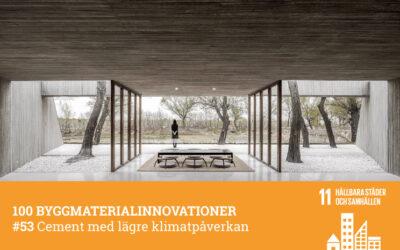 #53 Cement med lägre klimatpåverkan