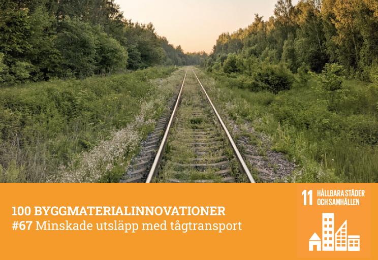 #67 Minskade utsläpp med tågtransport
