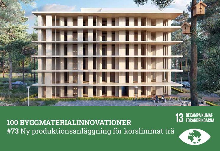 #73 Ny produktionsanläggning för korslimmat trä