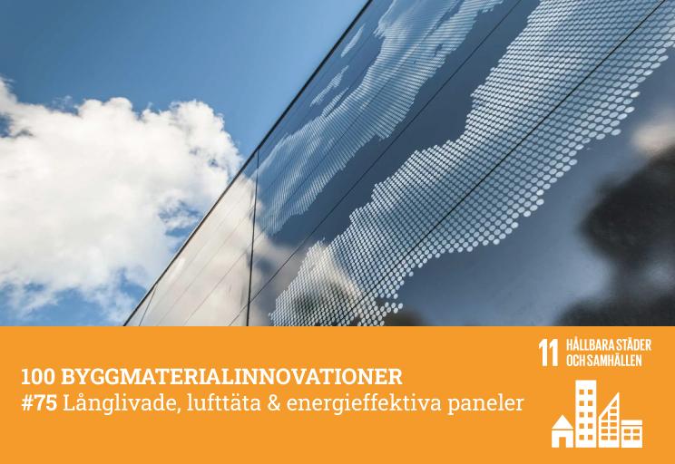 #75 Långlivade, lufttäta & energieffektiva paneler