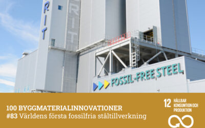 #83 Världens första fossilfria ståltillverkning