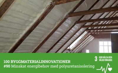 #90 Minskad energiförbrukning med polyuretanisolering