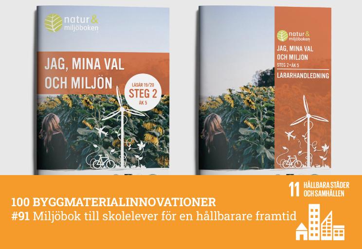 #91 Miljöbok till skolelever för en hållbarare framtid