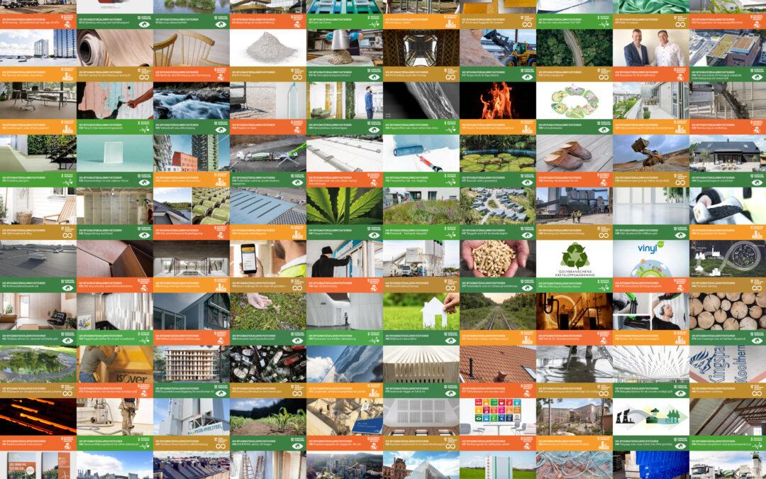 100 byggmaterialinnovationer!
