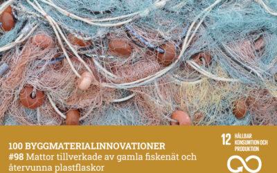 #98 Mattor tillverkade av gamla fiskenät och plastflaskor