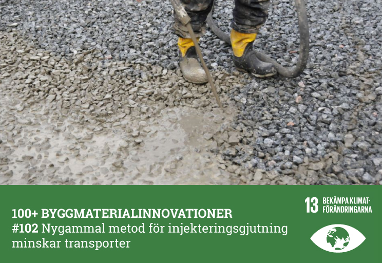 #102 Nygammal metod för injekteringsgjutning minskar transporter